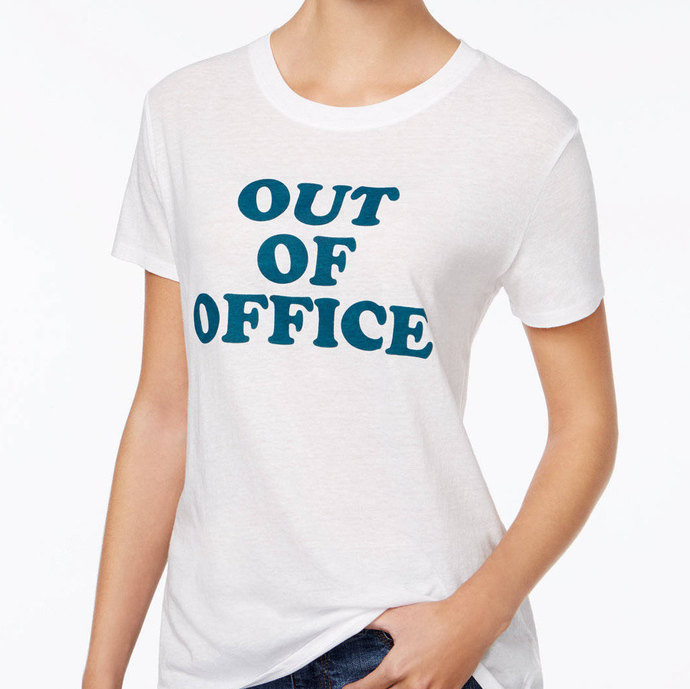 OUT OF OFFICE Vacation Ladies Tee
