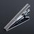 Wolf's Rain Metal Tie Clip Clasp Bar