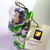 Japan Disney Toy Story Iridescent Jointed Buzz Lightyear Cell Phone Charm Strap
