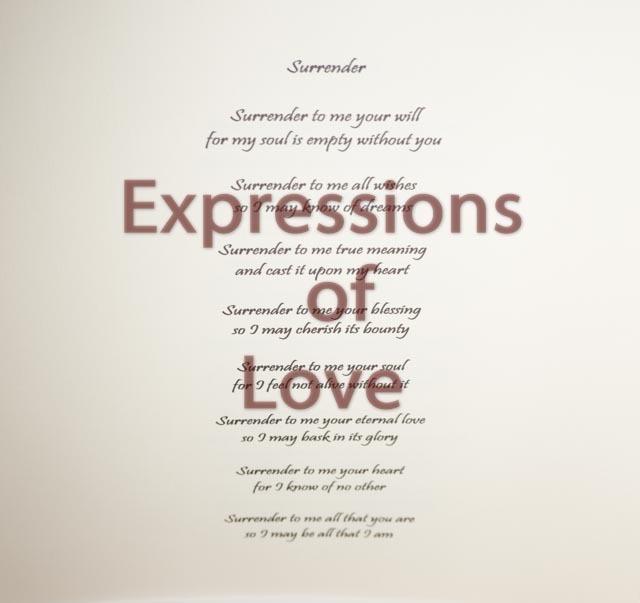 Romantic poem, Surrender,  Love poem, Love prose, Original poem, Digital