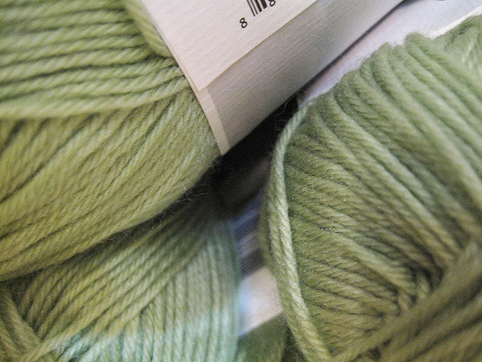 ON SALE Clearance Super Soft Key Lime Green Cascade Cherub DK Yarn 180 yards