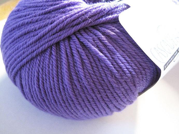 Purple Hyacinth Cascade 220 Superwash Yarn 220 yards 100% SuperWash Wool color