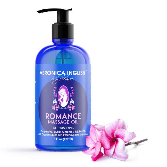 Couples Massage Oil - Natural Aromatherapy Body Oil - Aphrodisiac Massage Oil