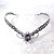 Storm Gray Oracle Gem Elven Circlet Tiara Crown Celtic Weave Silver or Gold with