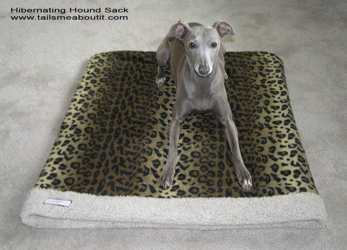 Hibernating Hound Sack - Snuggle sack - Pet Sleeper