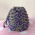 READY TO SHIP Dice Bag / Pouch - Dragon Egg Style - Tabletop Gaming - For