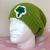 READY TO SHIP St. Patrick's Day Sparkle Slouchy Hat  - Men's