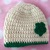 READY TO SHIP St. Patrick's Day Baby Hat - Three to Six Months
