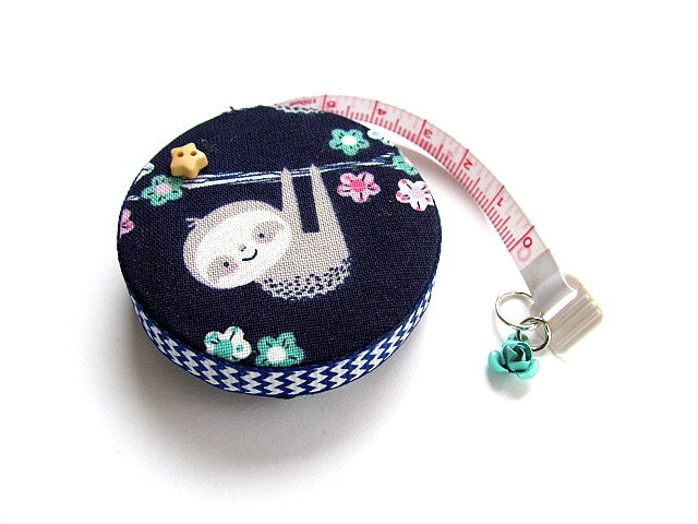 Tape Measure Hanging Sloths Retractable Measuring Tape
