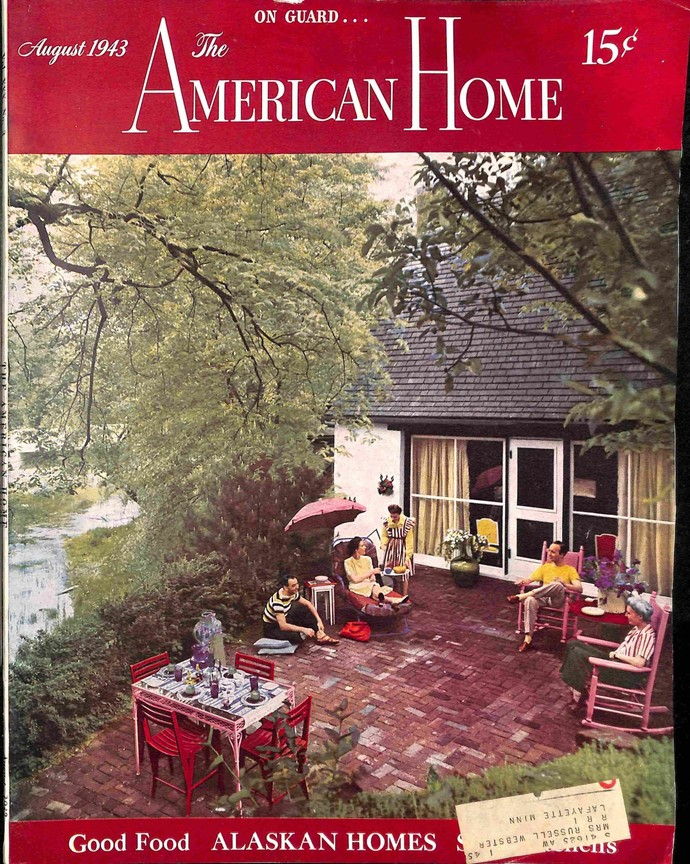 American Home, August 1943