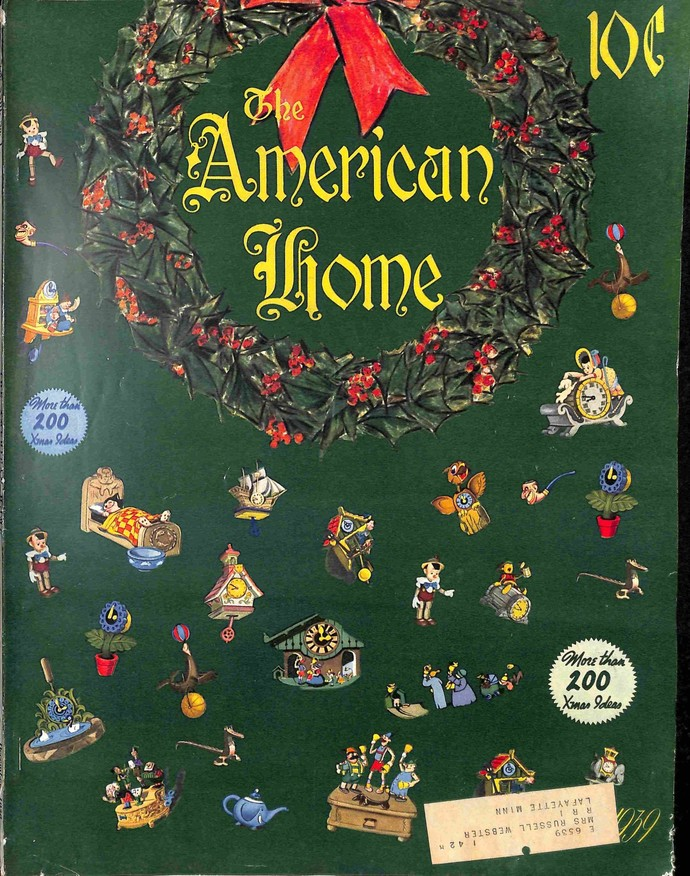 American Home, December 1939