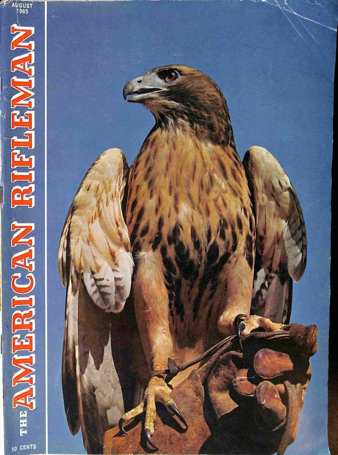 American Rifleman Magazine, August 1965