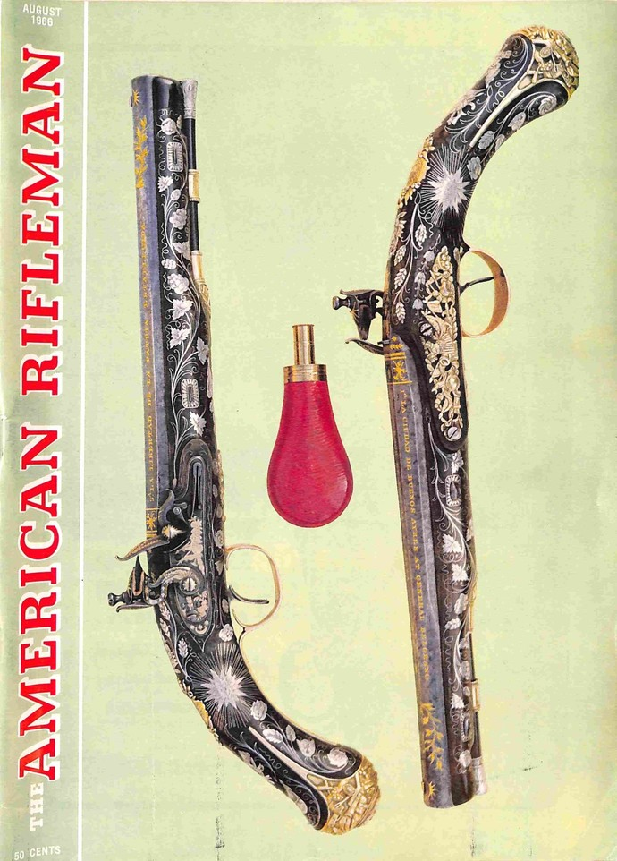 American Rifleman Magazine, August 1966