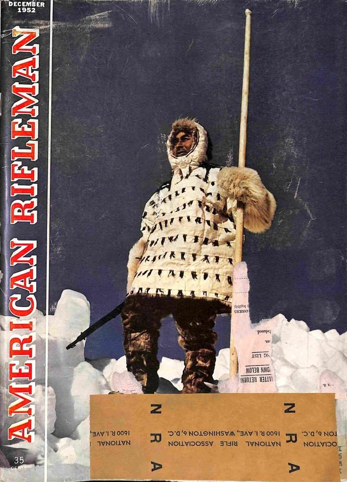 American Rifleman Magazine, December 1952