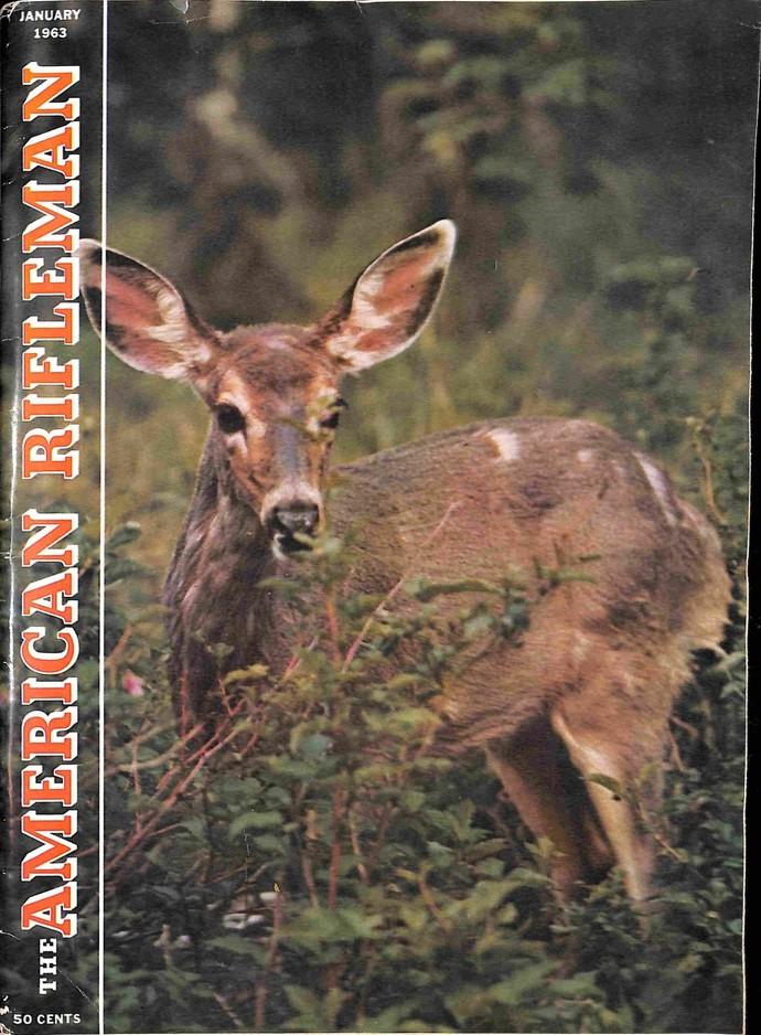 American Rifleman Magazine, January 1963