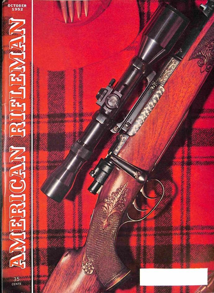 American Rifleman Magazine, October 1952