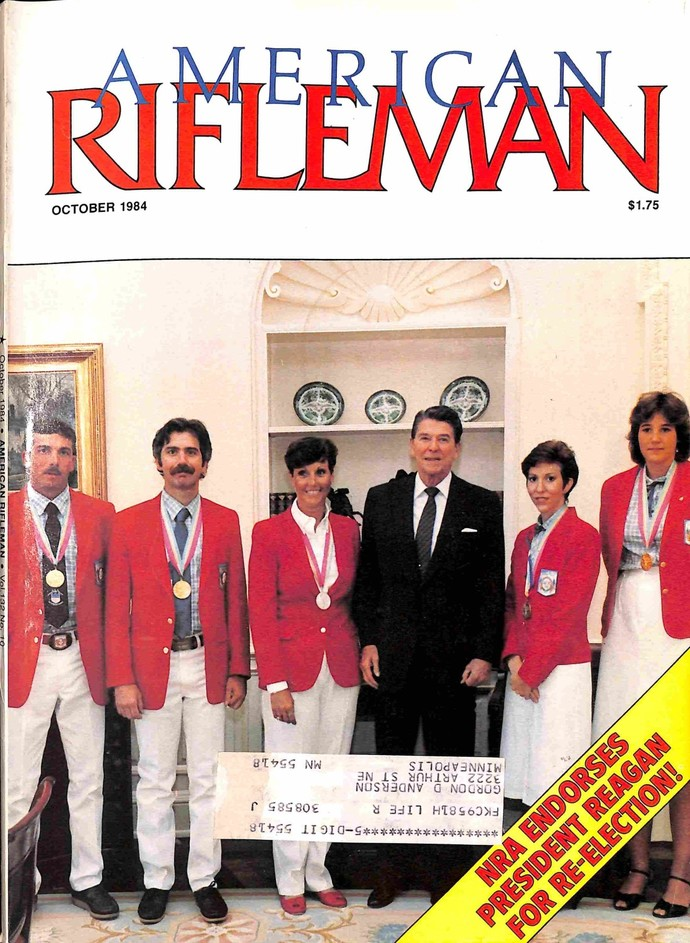 American Rifleman Magazine, October 1984