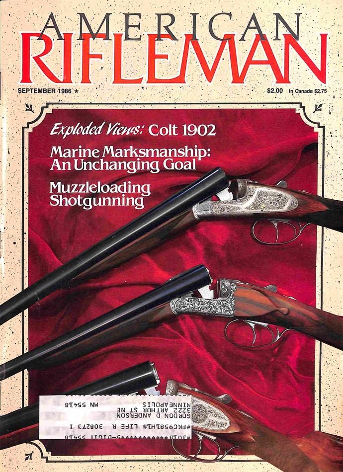American Rifleman Magazine, September 1986