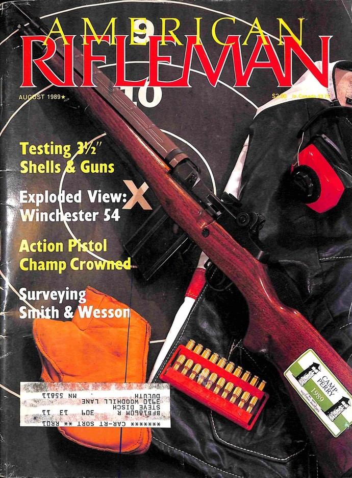American Rifleman, August 1989