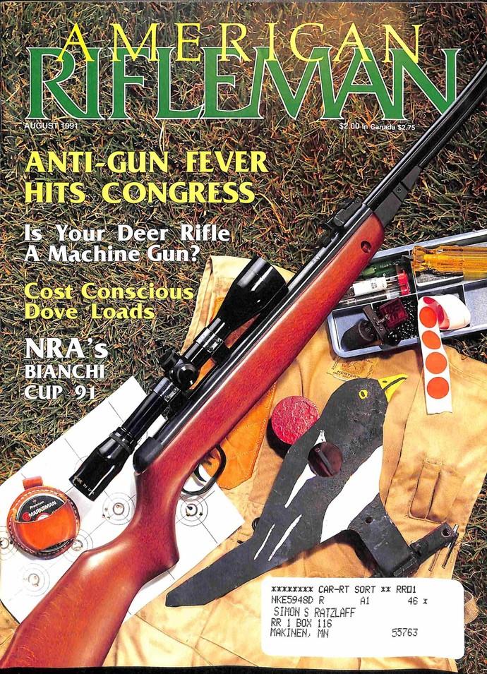 American Rifleman, August 1991