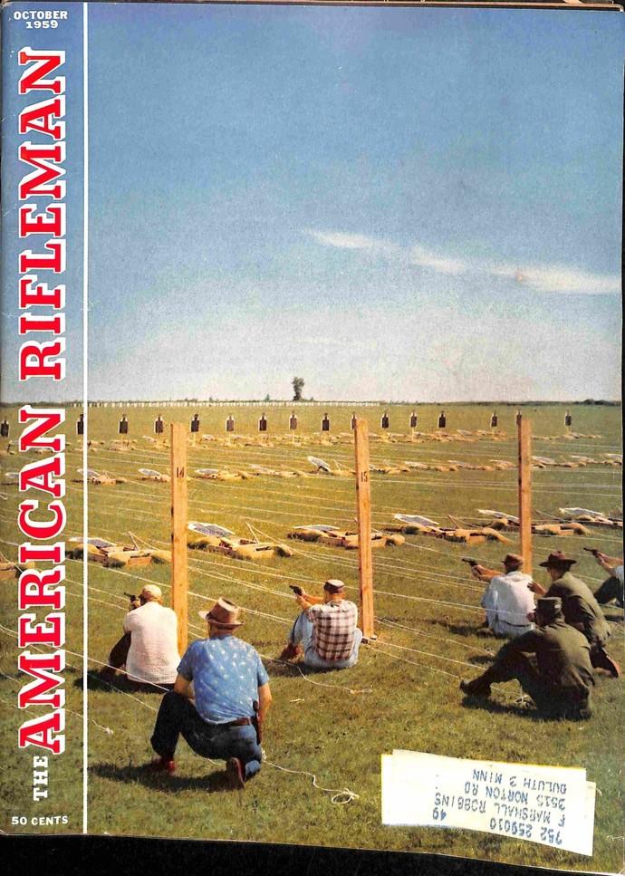 American Rifleman, October 1959