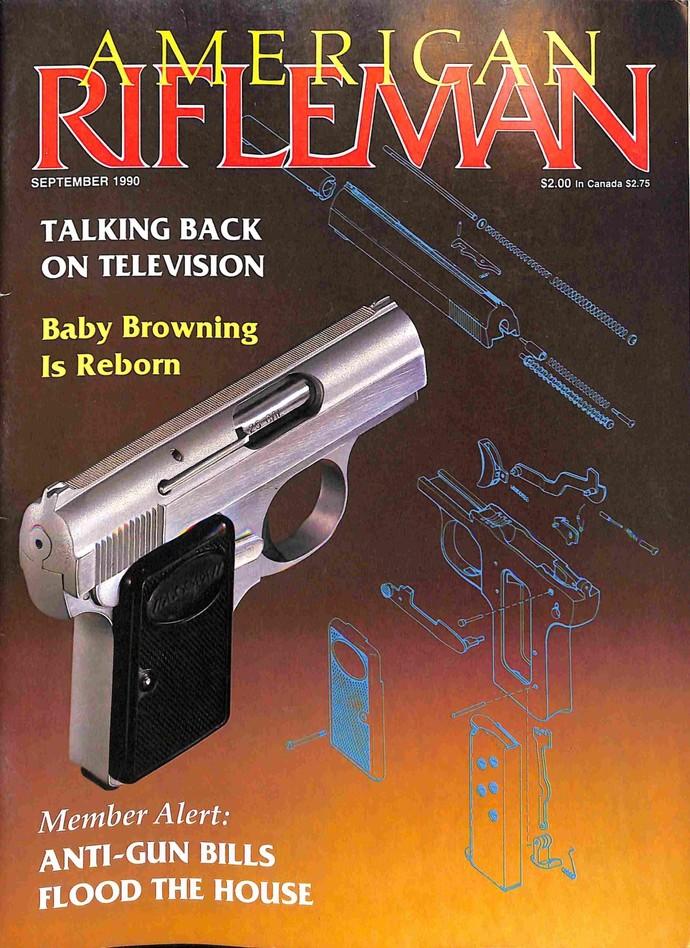 American Rifleman, September 1990