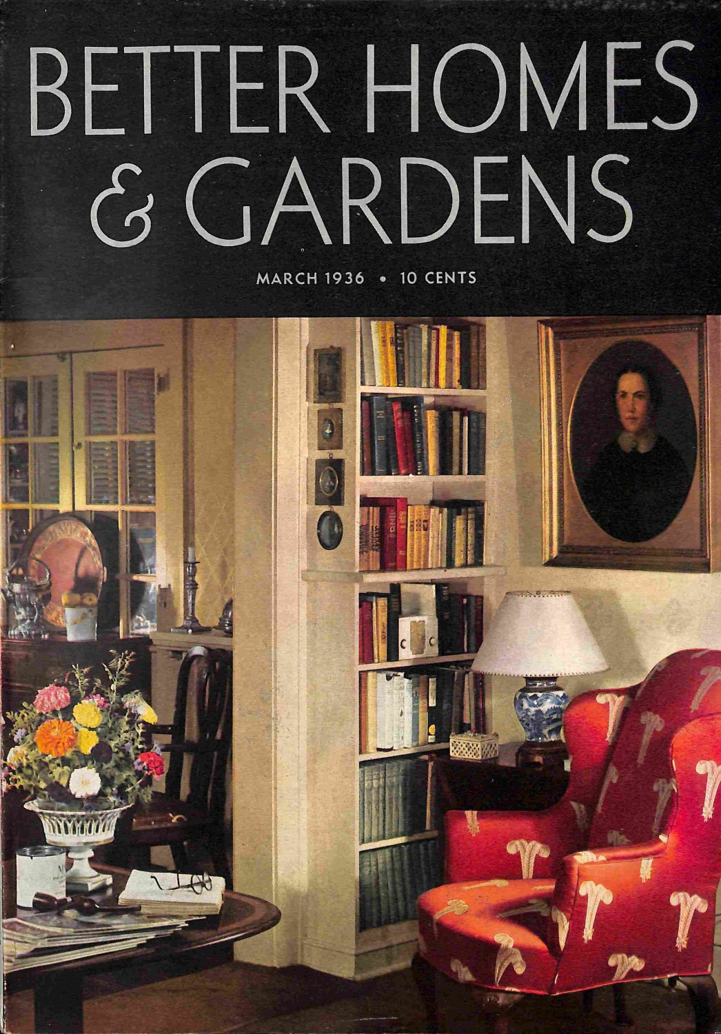 Better Homes and Gardens, March 1936 by meremartcom on Zibbet