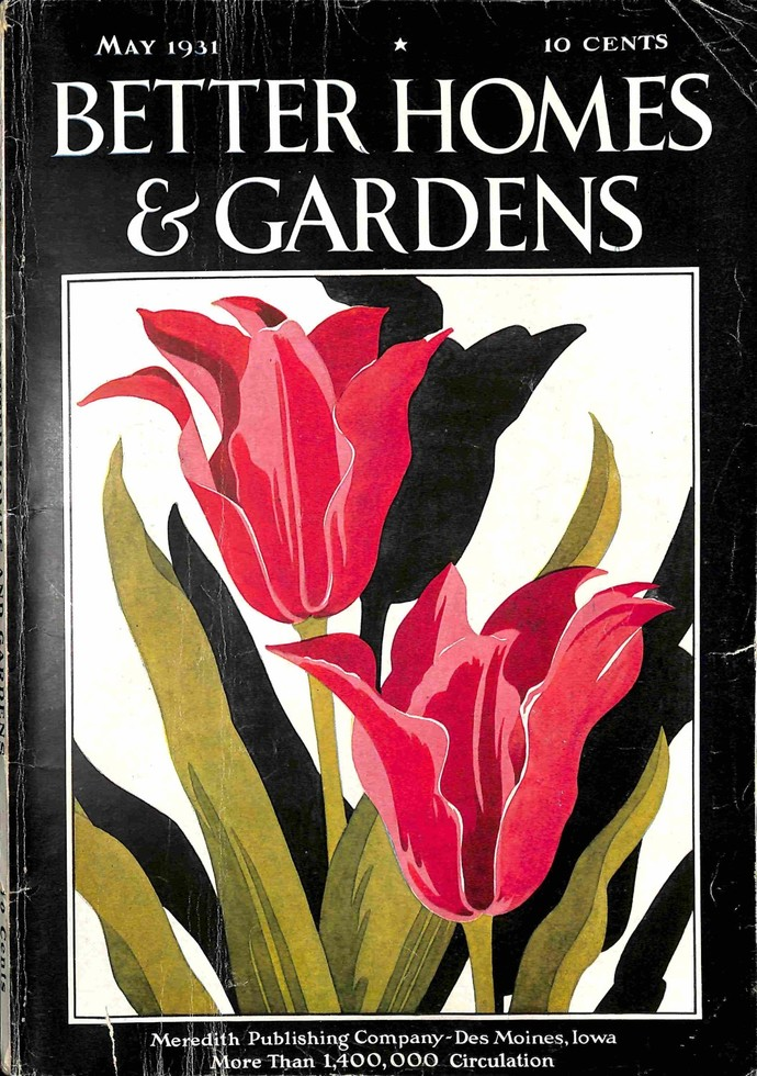 Better Homes and Gardens, May 1931