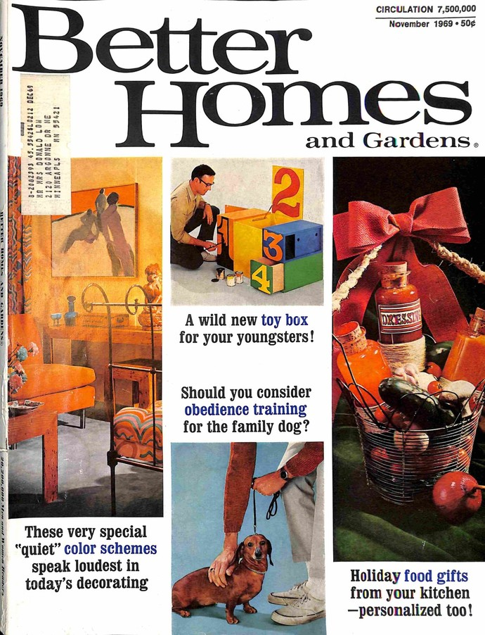 Better Homes and Gardens, November 1969