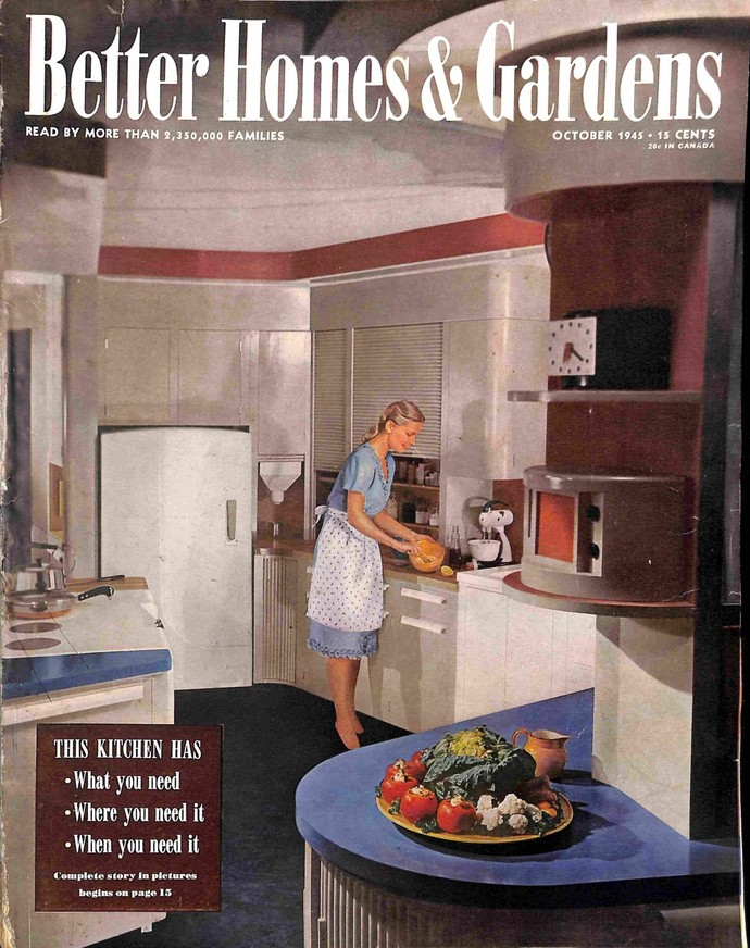 Better Homes and Gardens, October 1945