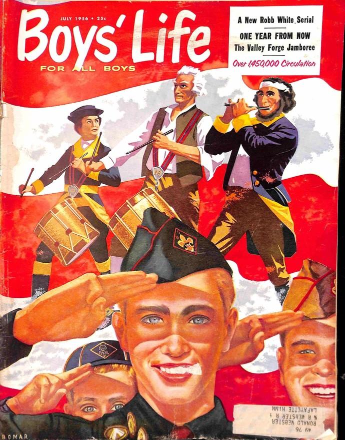 Boys Life Magazine, July 1956