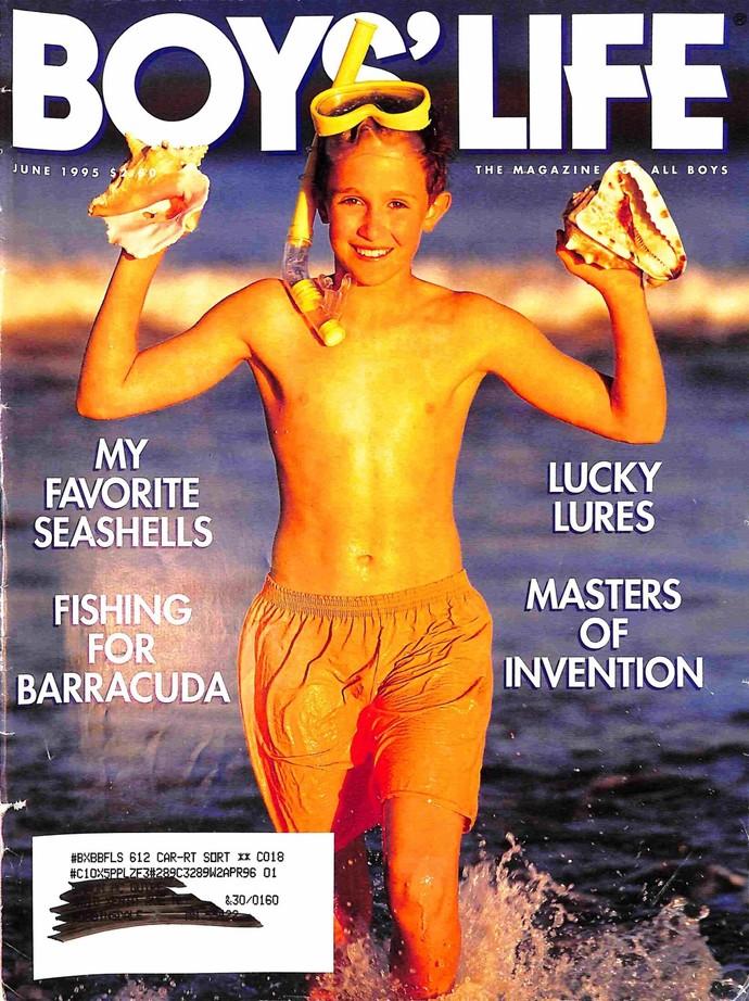 Boys Life Magazine, June 1995