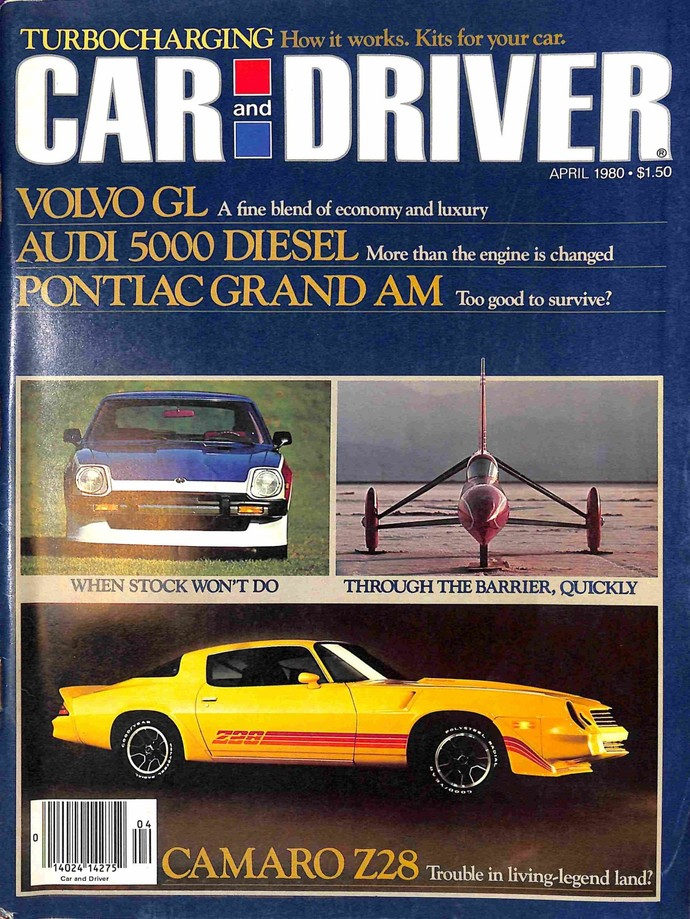 Car and Driver Magazine, April 1980
