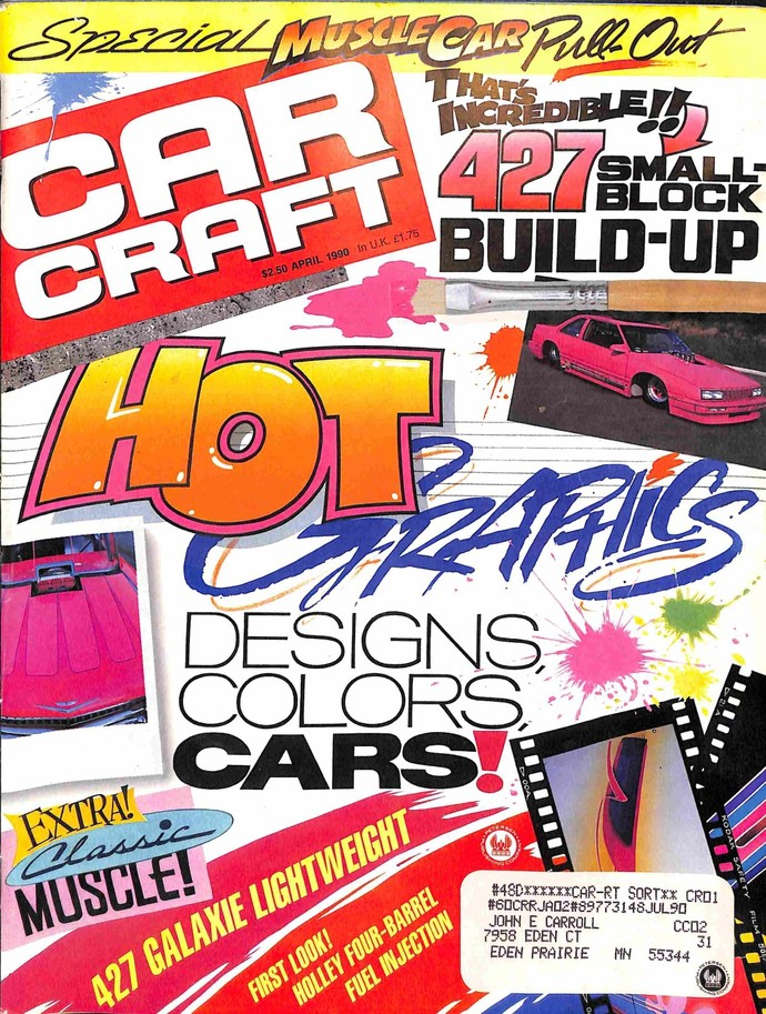 Car Craft, April 1990