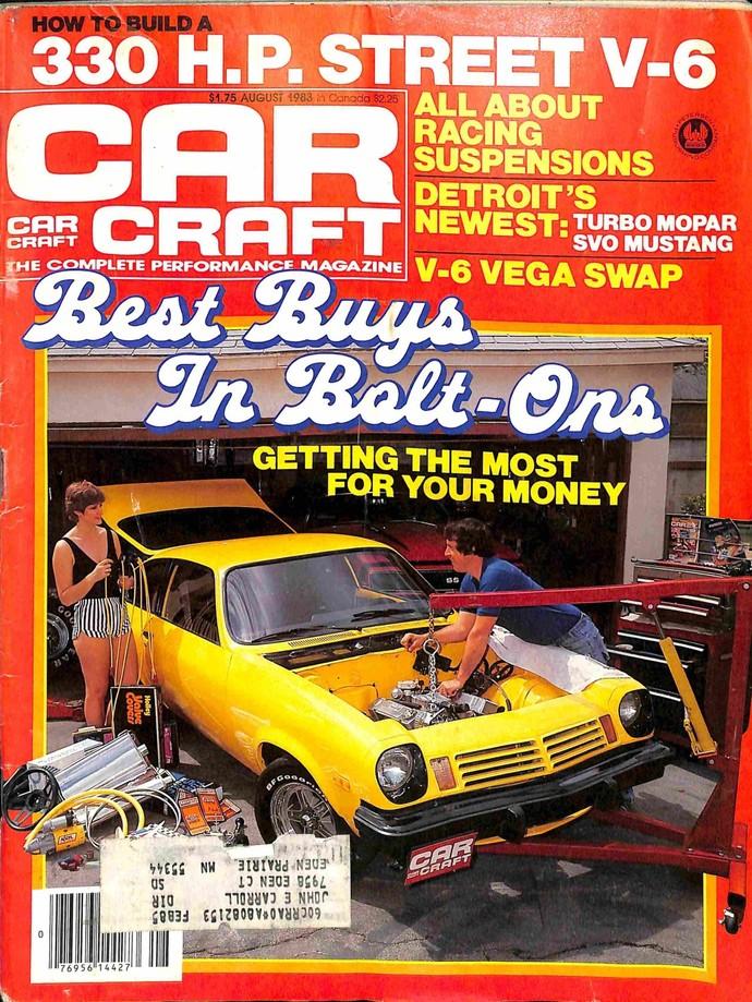 Car Craft, August 1983