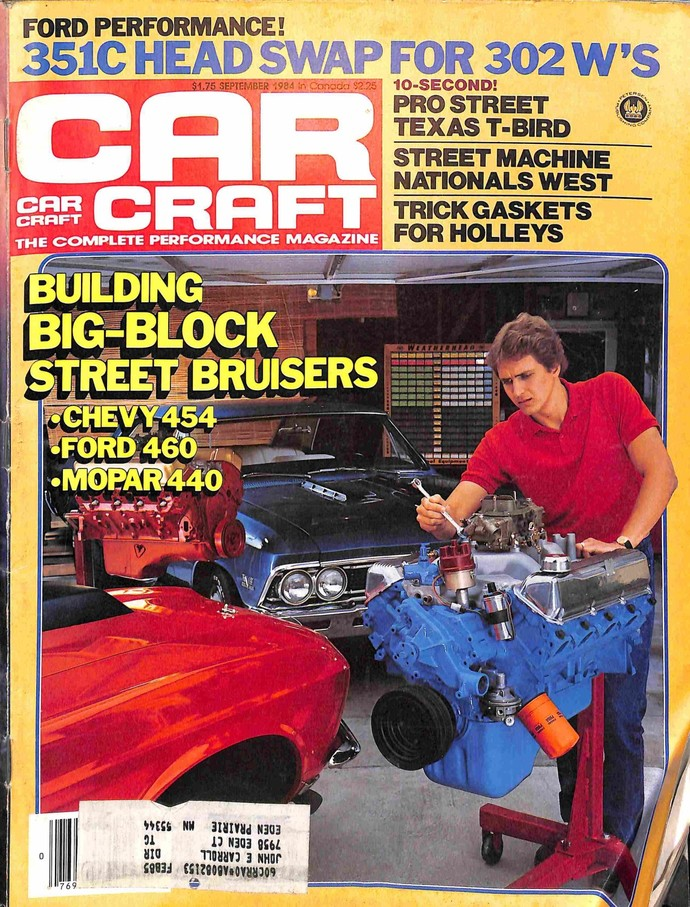 Car Craft, September 1984