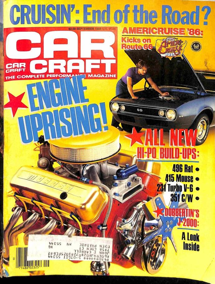 Car Craft, September 1986