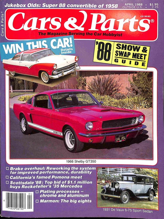 Cars and Parts, April 1988
