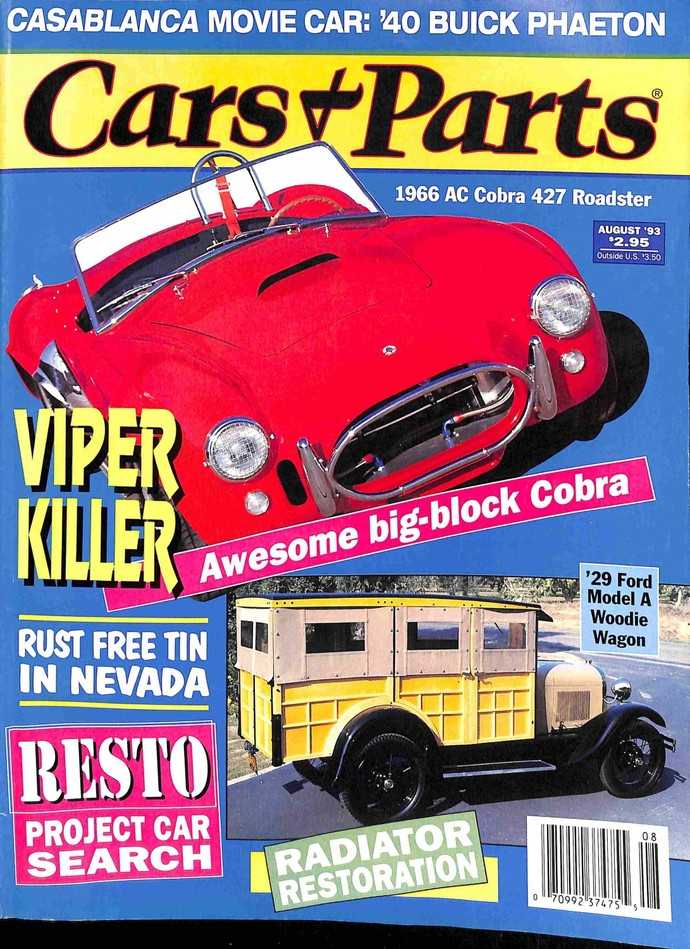 Cars and Parts, August 1993