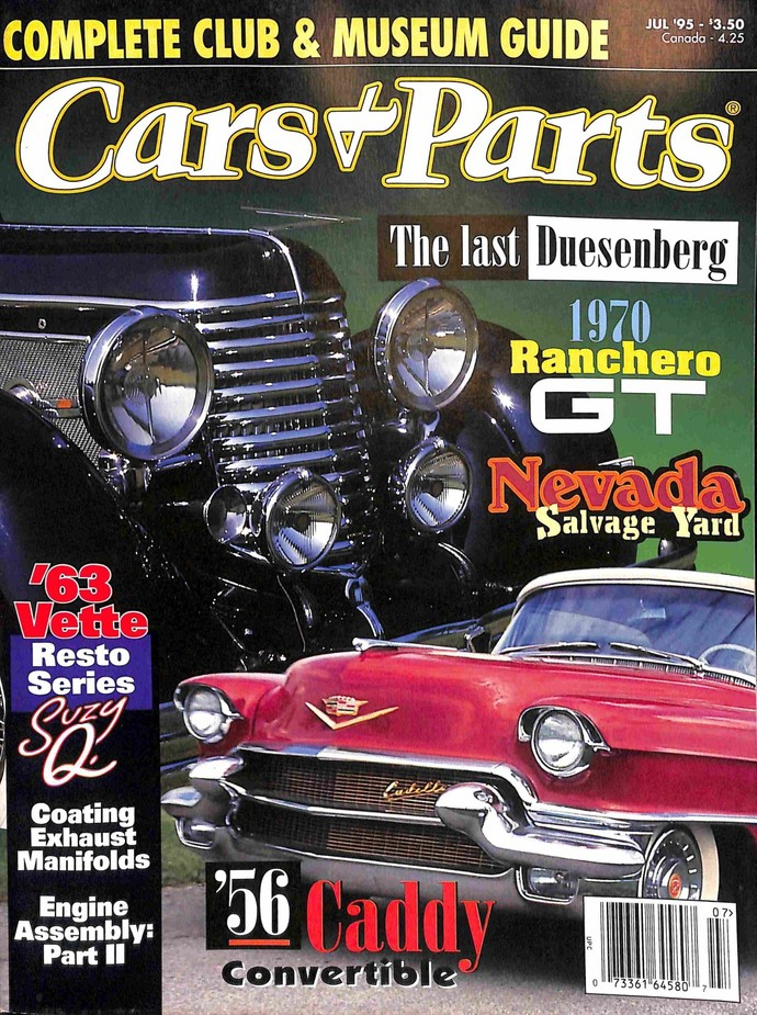 Cars and Parts, July 1995