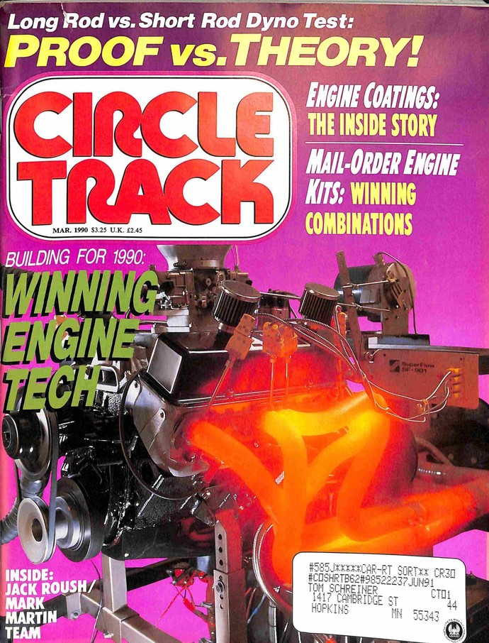 Circle Track, March 1990