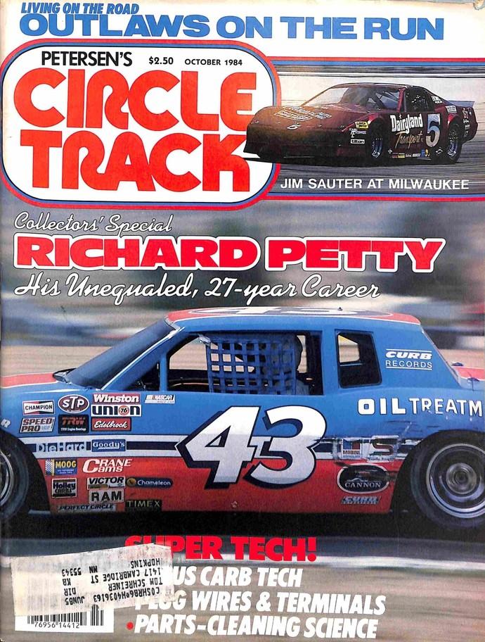 Circle Track, October 1984