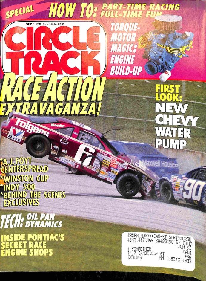 Circle Track, September 1991