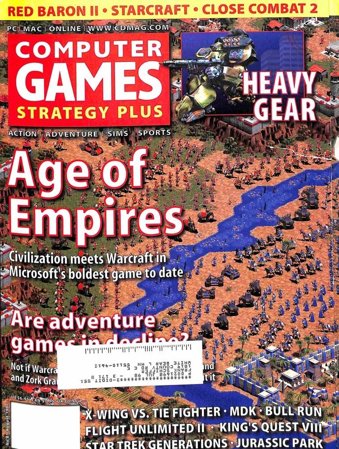 Computer Games Magazine, August 1997