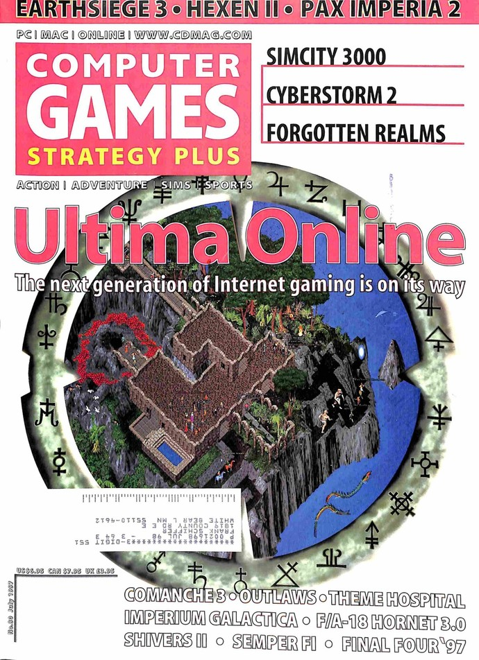 Computer Games Magazine, July 1997