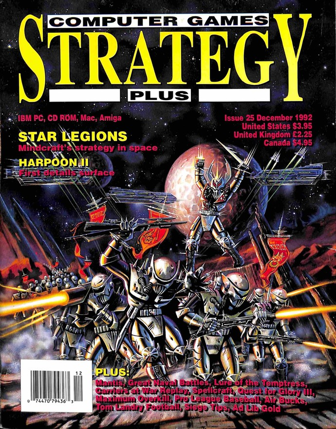 Computer Games Strategy Plus, December 1992