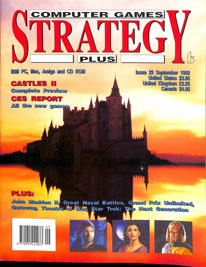 Computer Games Strategy Plus, September 1992