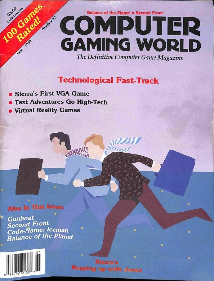 Computer Gaming World, June 1990