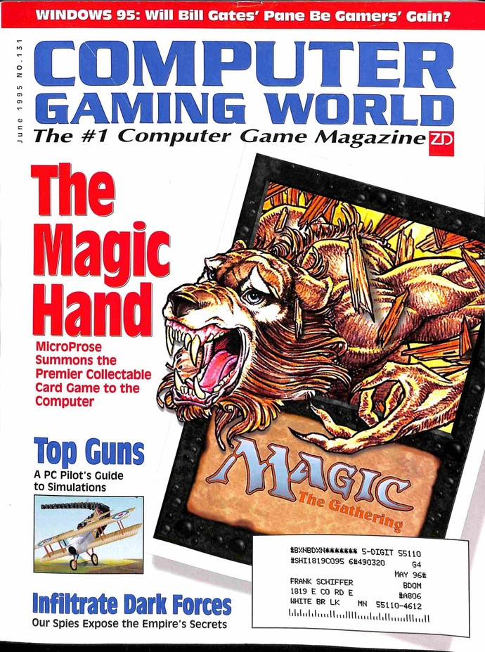 Computer Gaming World, June 1995