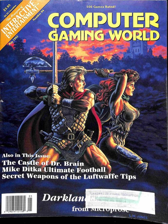 Computer Gaming World, May 1992